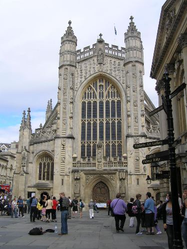 Abadia de Bath, frontal