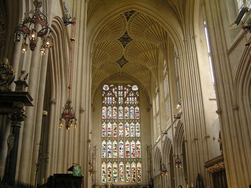Abadia de Bath interior