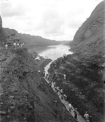 Canal de Panama en el año 1913