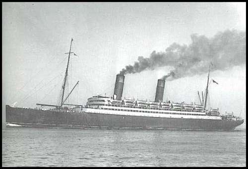 Caronia, de la Cunard
