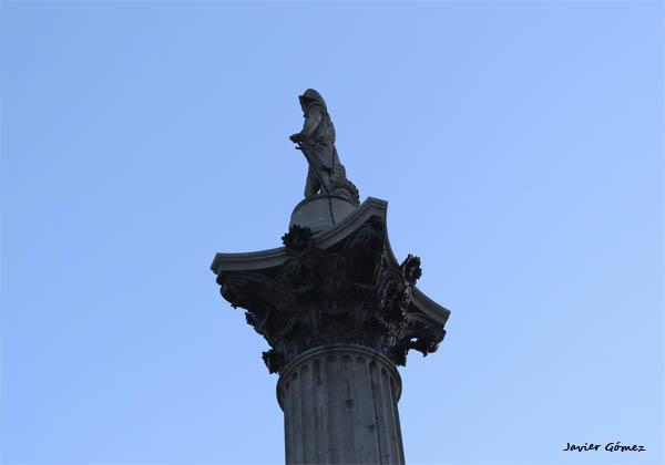 Columna de Nelson en Trafalgar Square