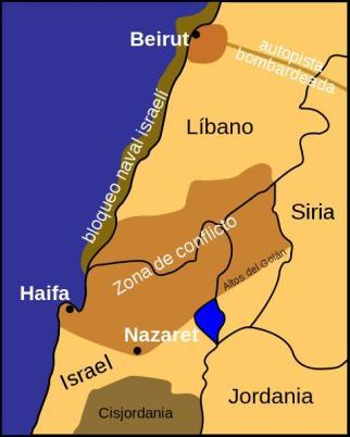 Conflicto libano israeli