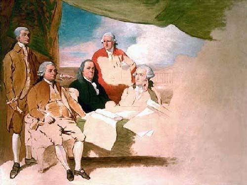 Firma del Tratado de Versalles de 1783