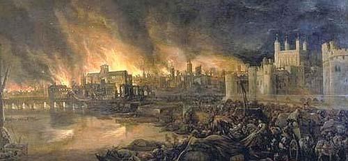 Gran Incendio de Londres de 1666