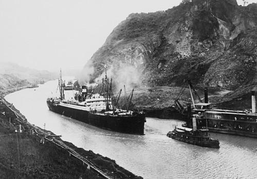 Inauguracion del Canal de Panama