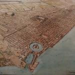 Las ruinas de Cartago en la costa de Túnez
