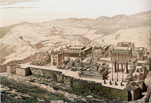 La antigua Persepolis