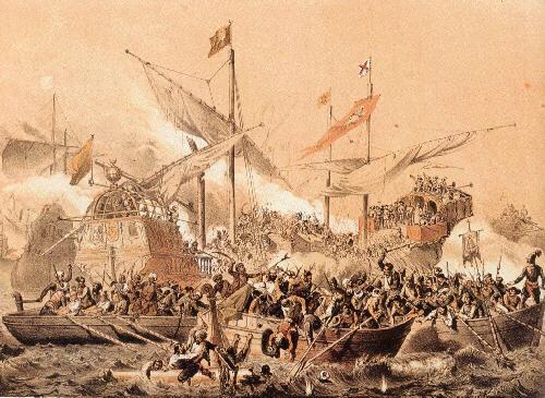 Lepanto - el combate entre la Real y la Sultana