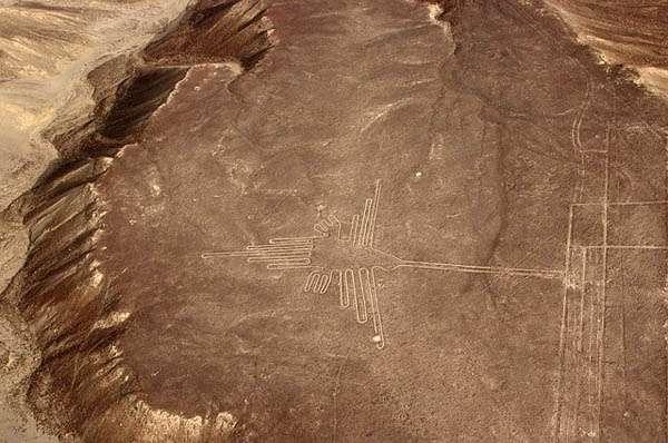 Líneas de Nazca - colibrí