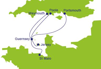 Llegar a Guernsey