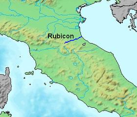 Localizacion del Rubicon