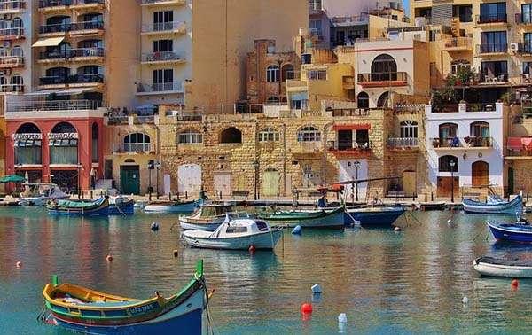 Malta desde el puerto