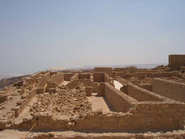 Masada en Israel