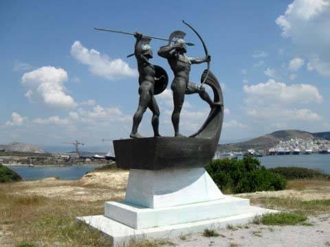 Monumento a la batalla de Salamina