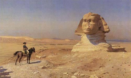 Napoleon y la Gran Esfinge