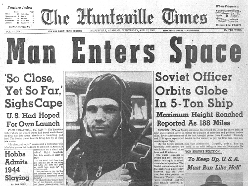 Periodico Vuelo orbital de Gagarin