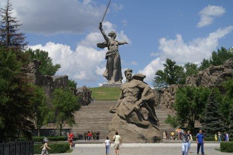 Tumulo de Mamai en Volgogrado