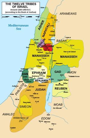 doce tribus de Israel