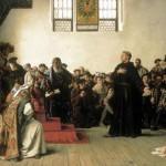 La iglesia de Wittenberg, lugar de reposo de Lutero